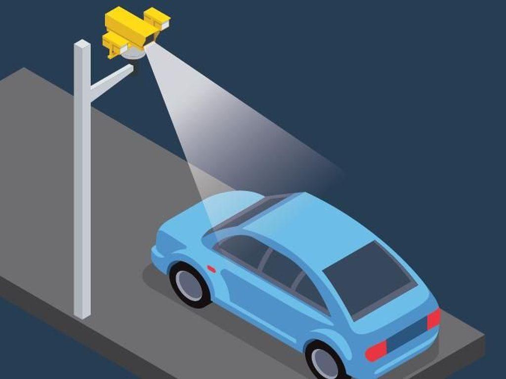 2.441 Kendaraan Ditindak Selama Uji Coba Tilang Elektronik di DKI