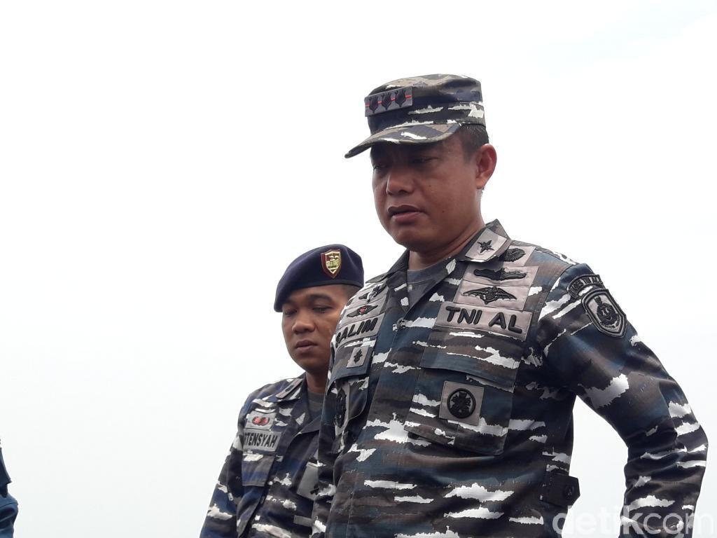 KRI Sikuda Bergerak Cari Badan hingga Hidung Lion Air PK-LQP