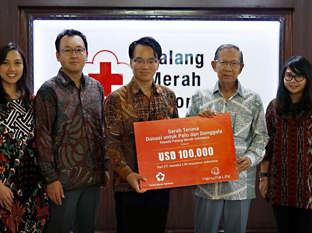 Donasi Rp 1,5 Miliar untuk Palu dan Donggala