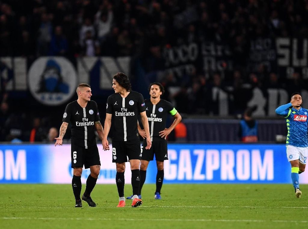 Jelang Duel Lawan Napoli, Cavani Peringatkan PSG