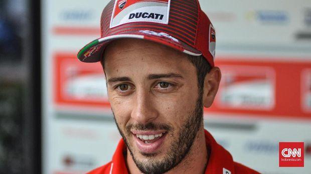 Petrucci bakal jadi rekan Andrea Dovizioso di MotoGP 2019.
