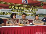 Tim DVI Polri Periksa 272 Bagian Tubuh Korban Lion Air
