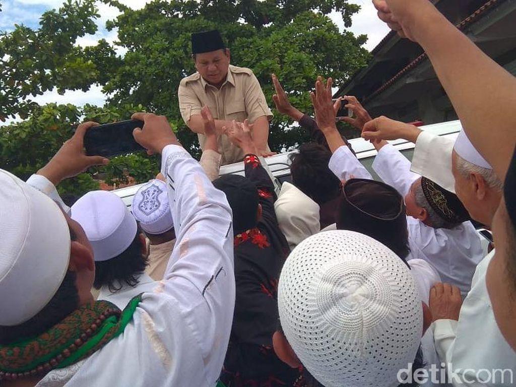 Prabowo: Kita Islam yang Damai, Bukan Islam yang Ekstrem