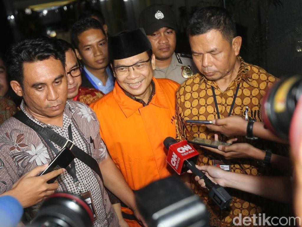 Wakil Ketua DPR Taufik Kurniawan Dicecar KPK soal Sumber Duit Suap