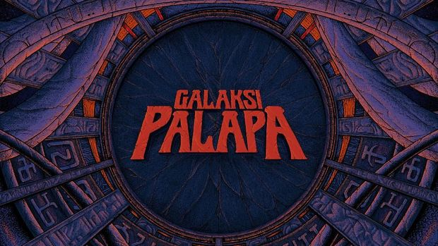 KPR bekerja sama dengan Agung Budi, seniman asal Banjarmasin, untuk artwork mini album 'Galaksi Palapa'