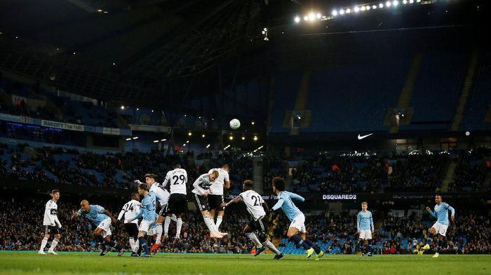 City menjamu Fulham di Stadion Etihad, Jumat (2/11/2018) dinihari WIB. Foto: Reuters