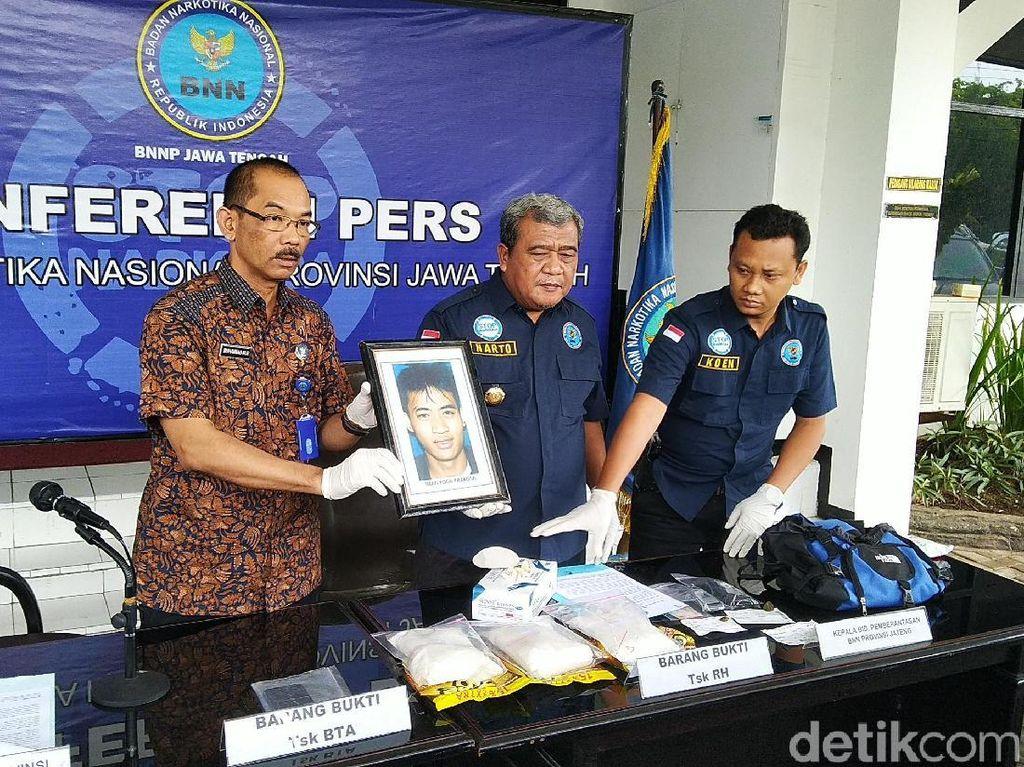 BNNP Jateng Tembak Mati Anggota Geng Solo Pengedar 2,1 Kg Sabu
