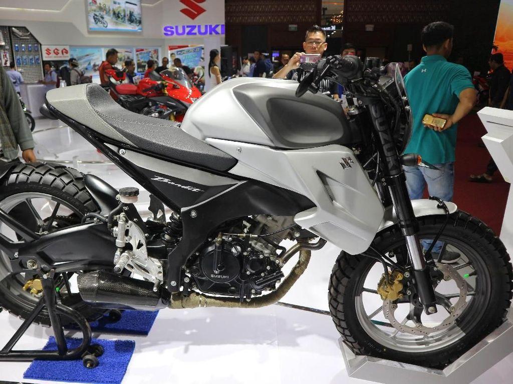 Modifikasi Suzuki Bandit Bergaya Neo Scrambler, Jadi Lebih Gahar