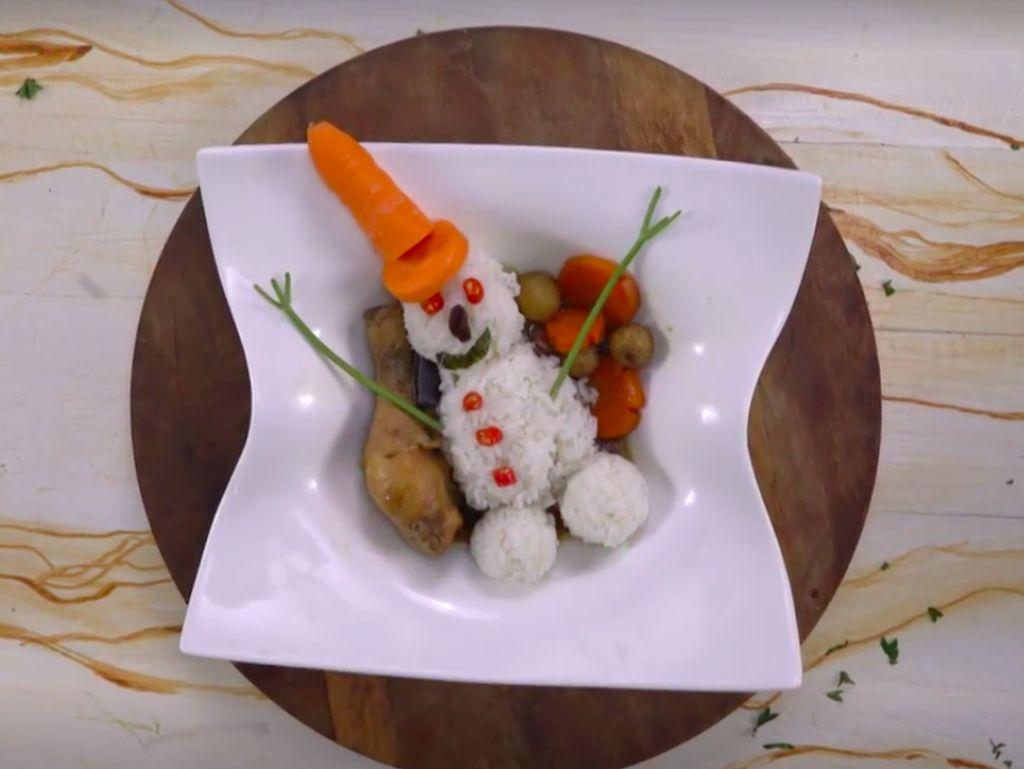 Menu Bekal Anak: Resep Semur Ayam Bola Nasi Frozen