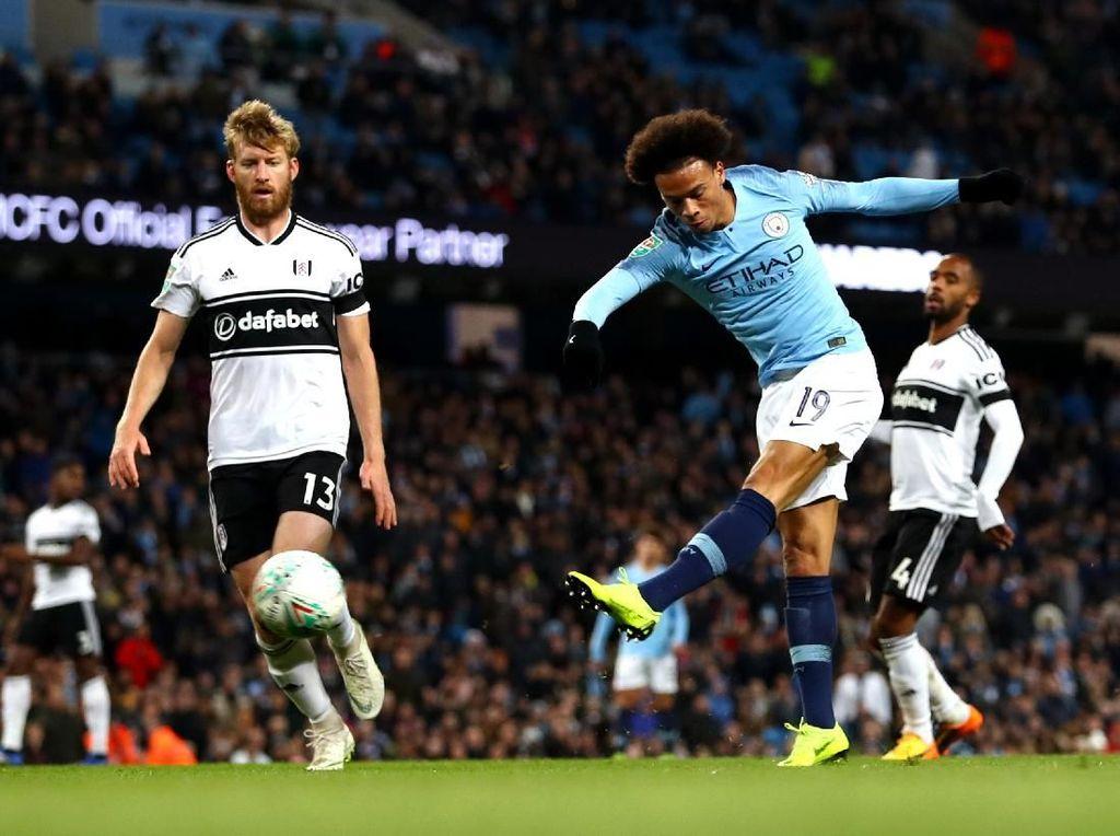 Hasil Piala Liga Inggris: Manchester City ke Perempatfinal Usai Atasi Fulham