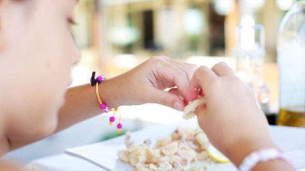 Ilustrasi anak kekurangan gizi