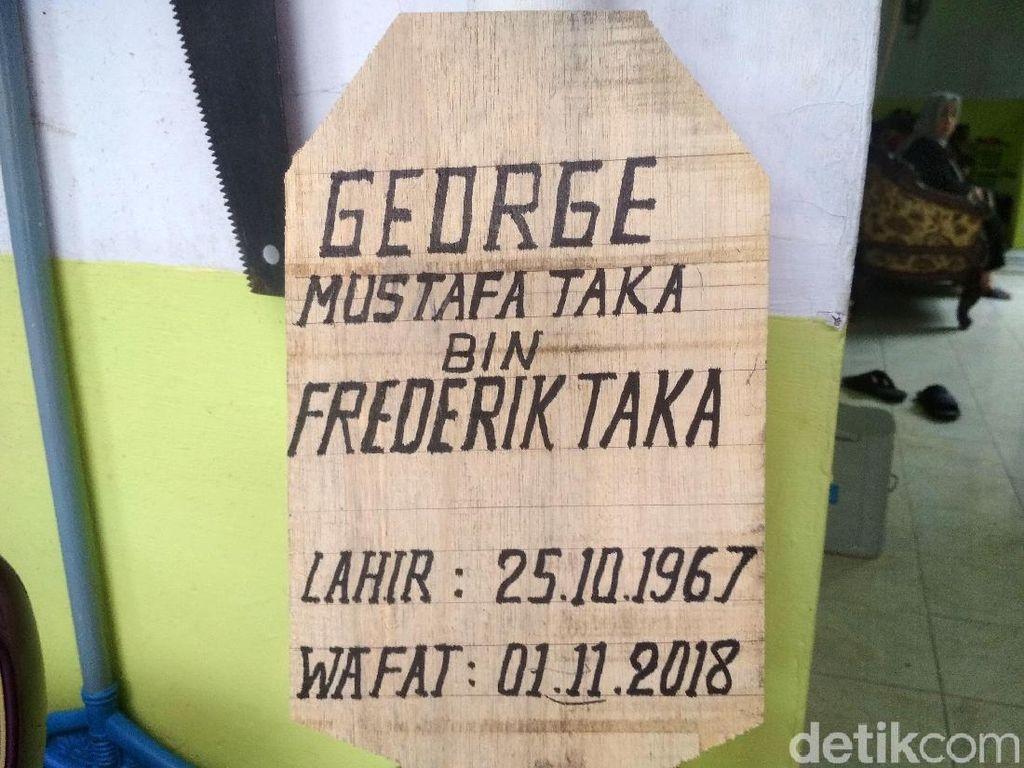 Almarhum George Mustafa Taka Ingin Sang Anak Jadi Aktor
