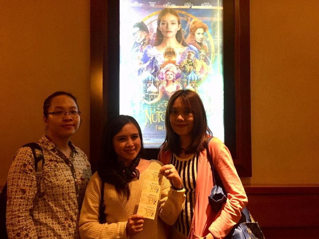 detikers Tak Sabar Nobar The Nutcracker And The Four Realms