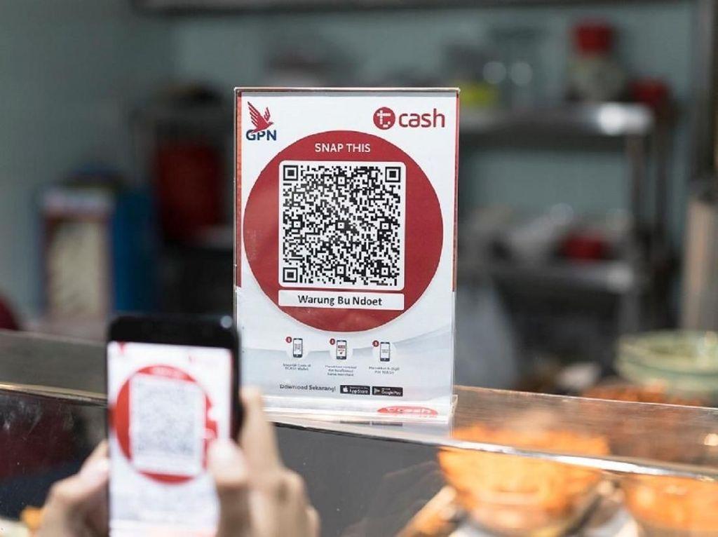 Tcash Siap Terapkan Transaksi Kode QR Terstandar