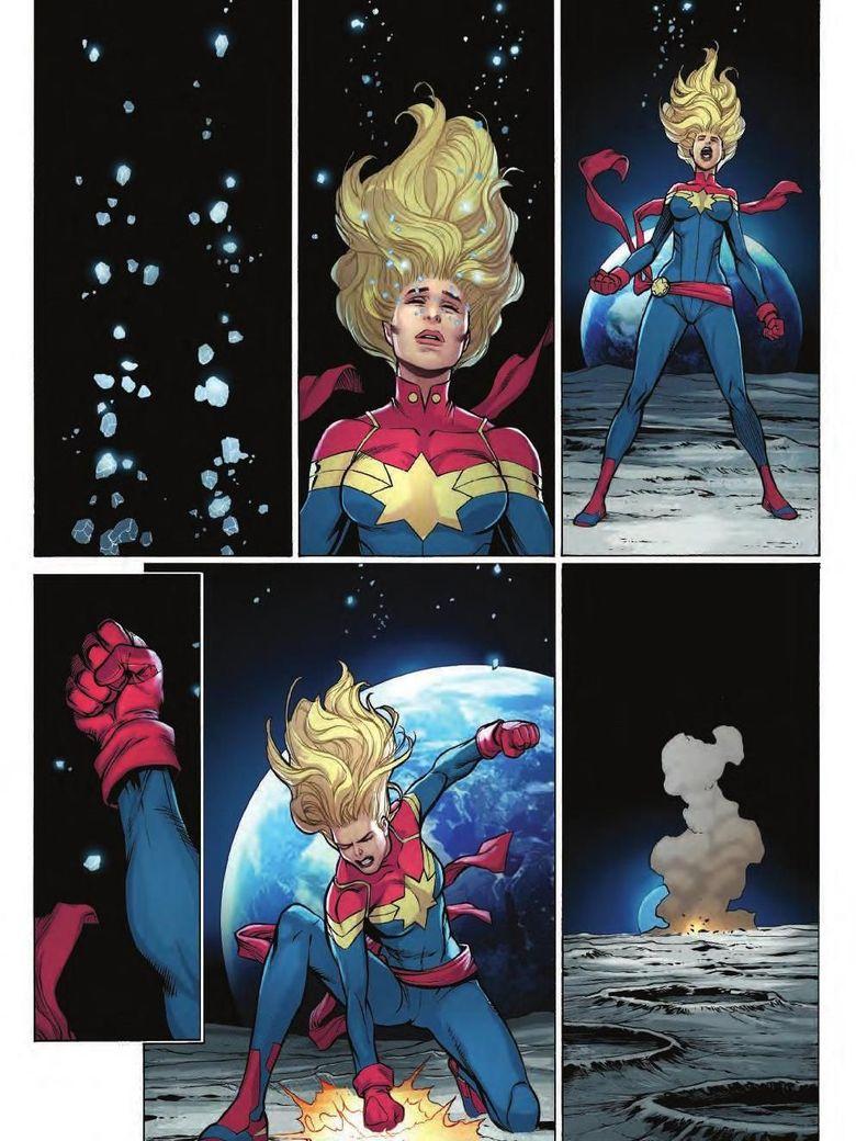 Sisi Lain Carol Danvers Terungkap di Komik The Life of Captain Marvel