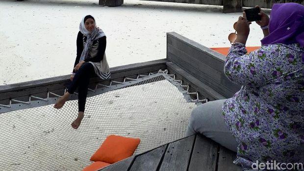 d'Traveler bermain dan bersantai di Club Med Kani Maldives