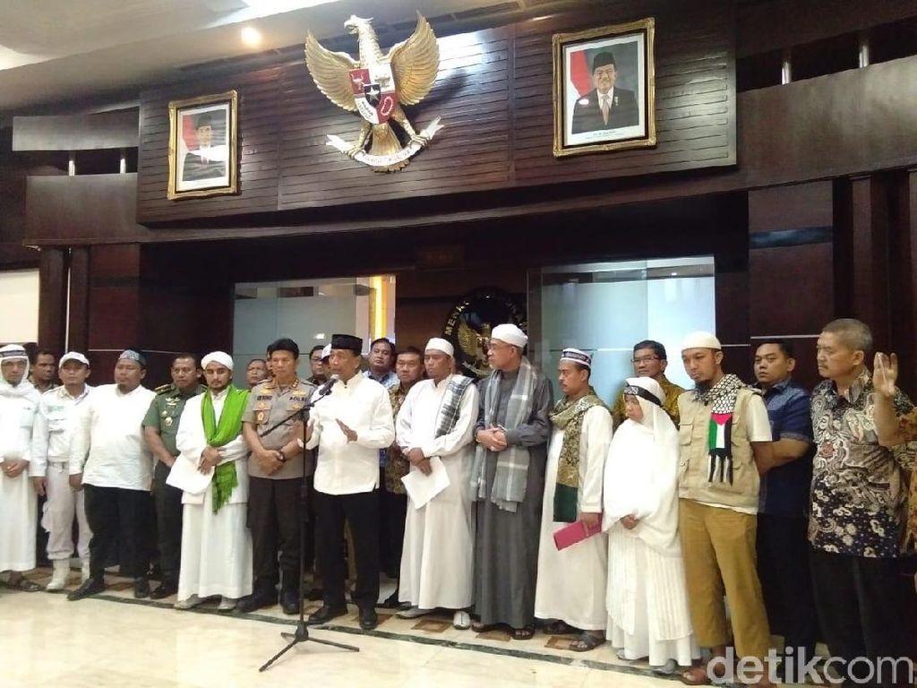 Beri 5 Tuntutan ke Wiranto, Massa Aksi 211 Minta Kerukunan Dijaga