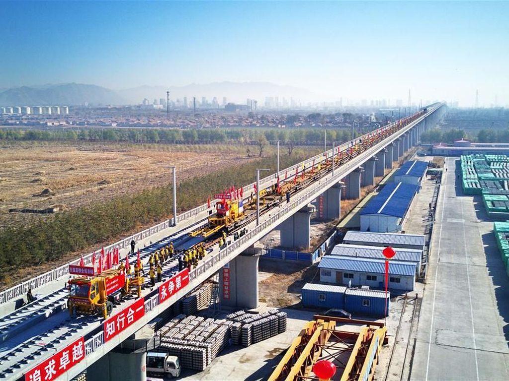 China Operasikan Jalur Kereta Cepat  174 Km Tahun Depan