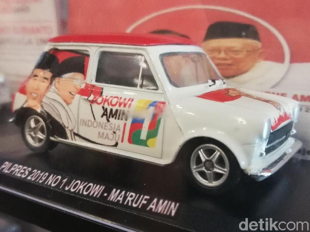 Berburu Diecast Jokowi-Prabowo di Indonesia Diecast Expo 2018