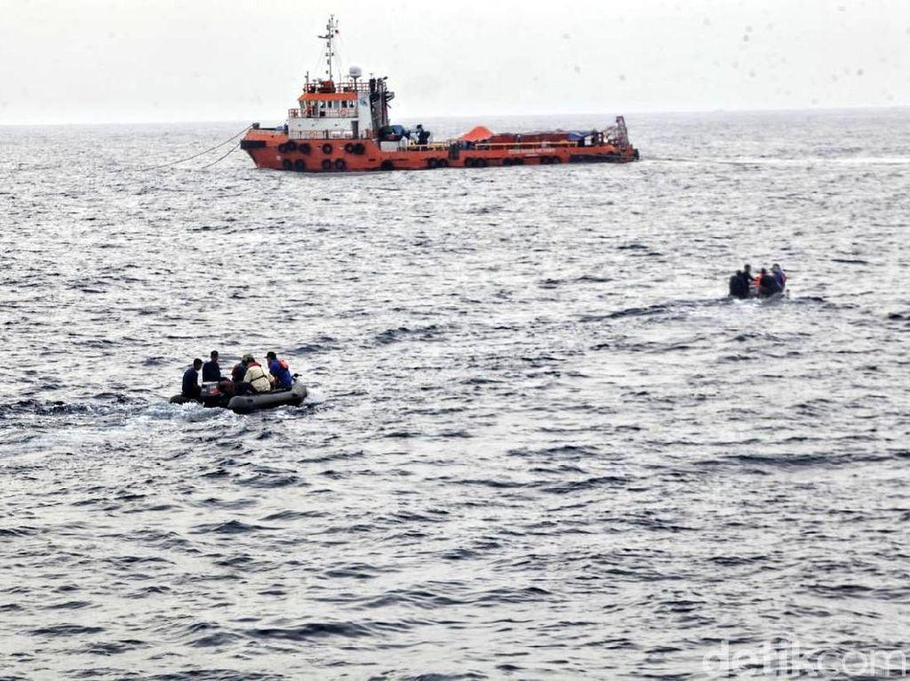 TNI AL Tarik Personel dari Operasi Evakuasi Lion Air