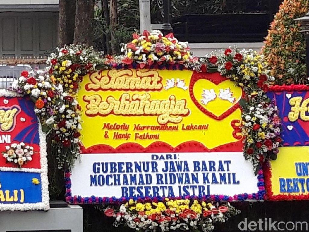Banyak Karangan Bunga untuk Melody Eks JKT48