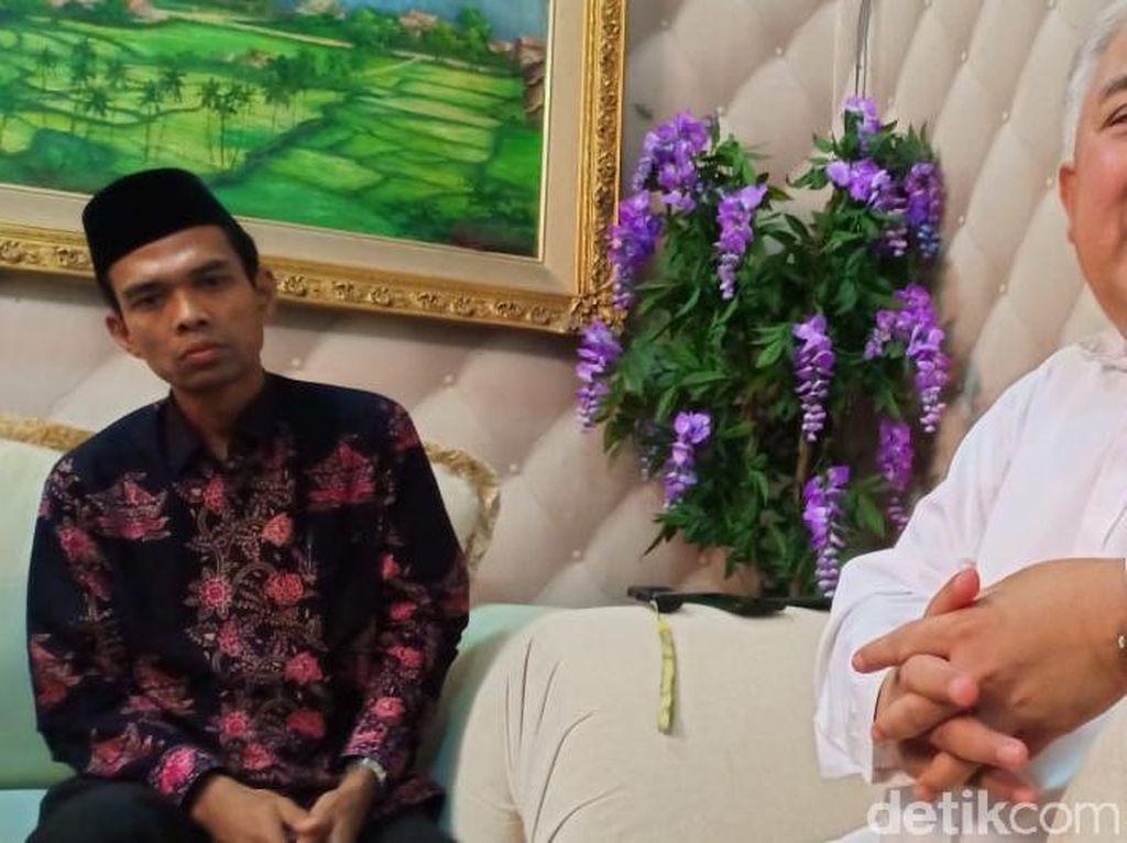 Ustaz Abdul Somad Sowan ke Din Syamsuddin