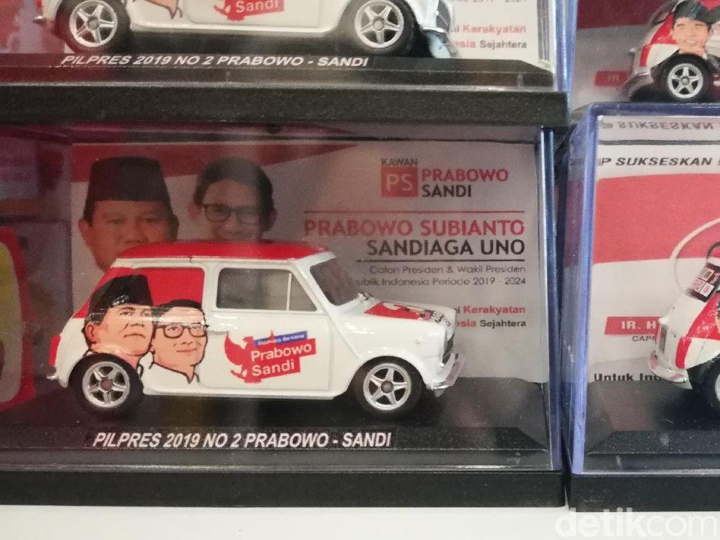 Keren, Ada Diecast Bertema Jokowi-Prabowo