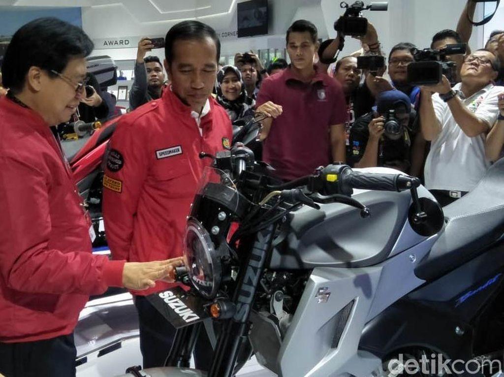 Jokowi Bangga Industri Sepeda Motor Indonesia Tumbuh
