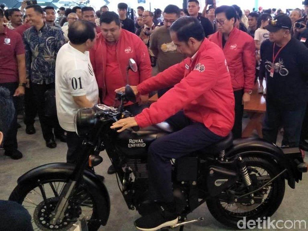 Jokowi Datang ke Pameran Motor IMOS 2018 Tanpa Diundang