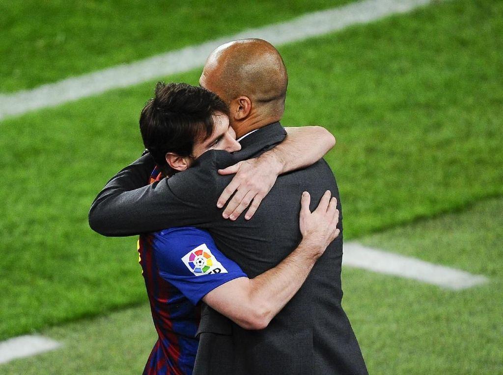 Bereuni dengan Guardiola di Man City Akan Menggoda bagi Messi