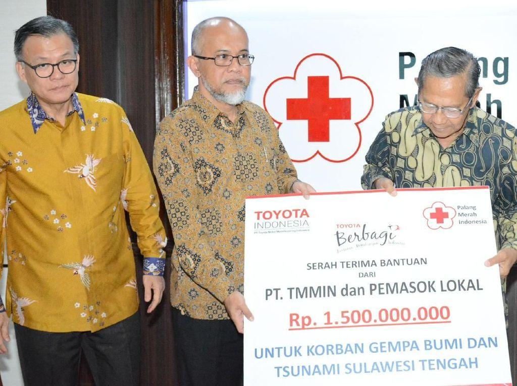 Donasi untuk Korban Gempa Sulteng