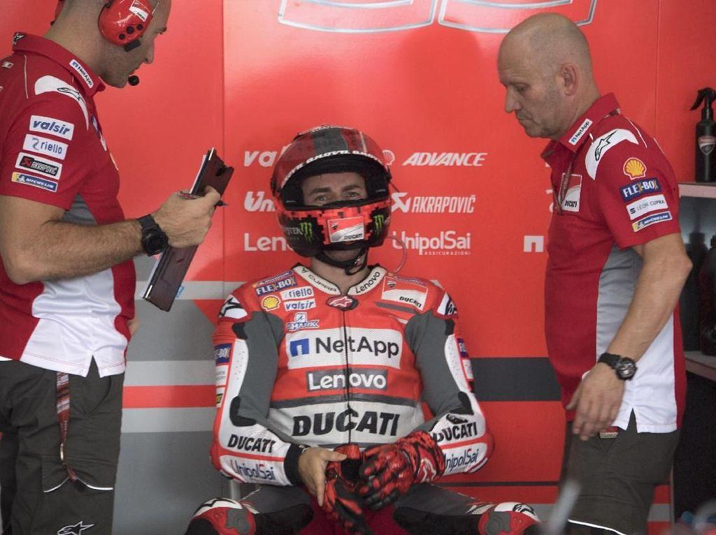 Lorenzo Akhirnya Mundur dari MotoGP Malaysia