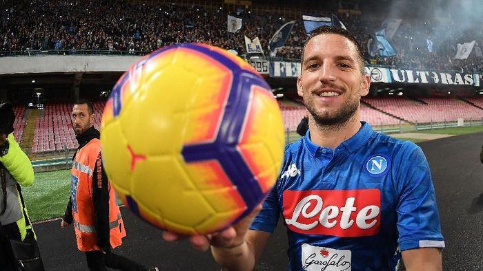 Dries Mertens menyebut Napoli perlu belanja jika ingin memenangi gelar juara (Foto: Francesco Pecoraro/Getty Images)