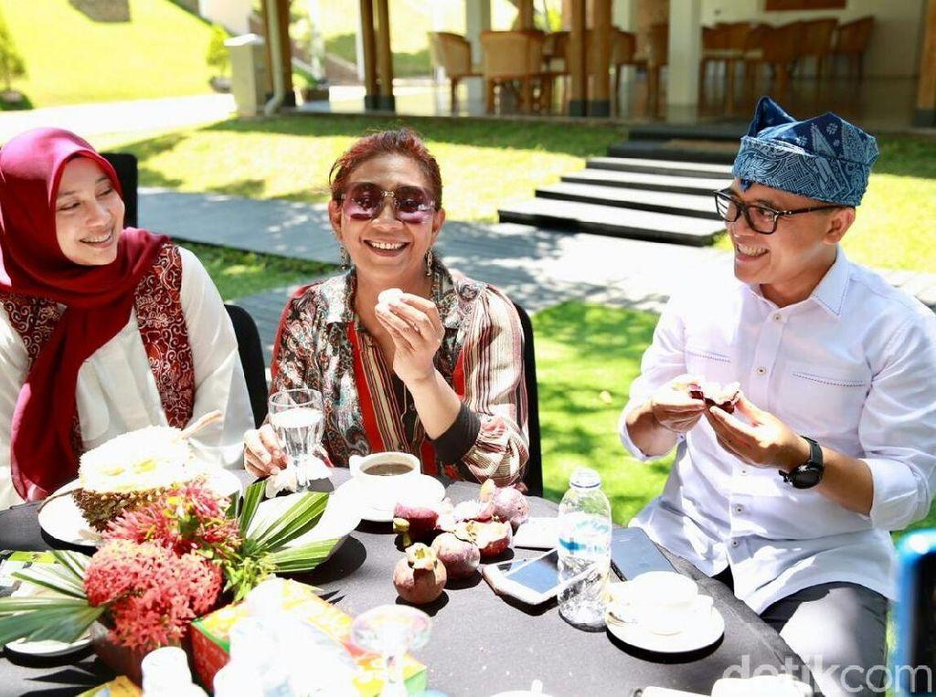 Nikmati Durian Pelangi Banyuwangi, Begini Respon Menteri Susi