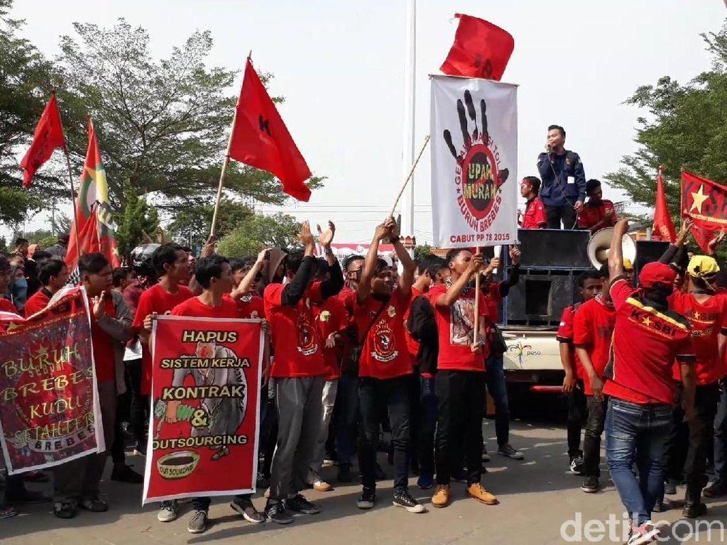 Buruh Janji Tak Demo, tapi....