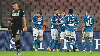 Hasil Liga Italia: Mertens Hat-trick, Napoli Benamkan Empoli 5-1