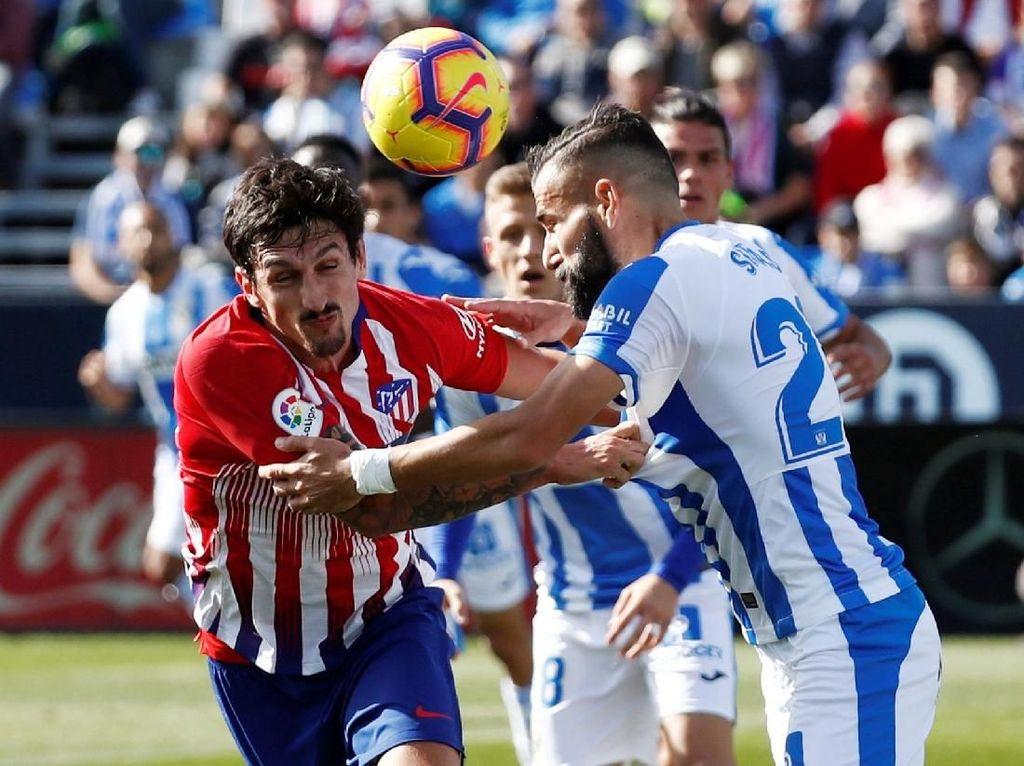 Hasil Liga Spanyol: Atletico Diimbangi Leganes