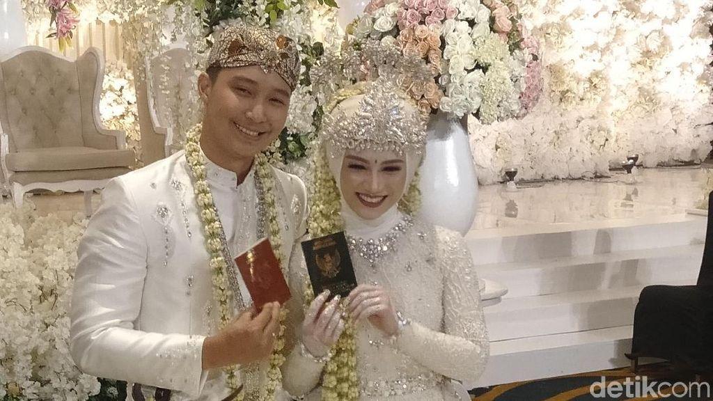 Melihat Kembali Resepsi Pernikahan Melody Eks JKT48