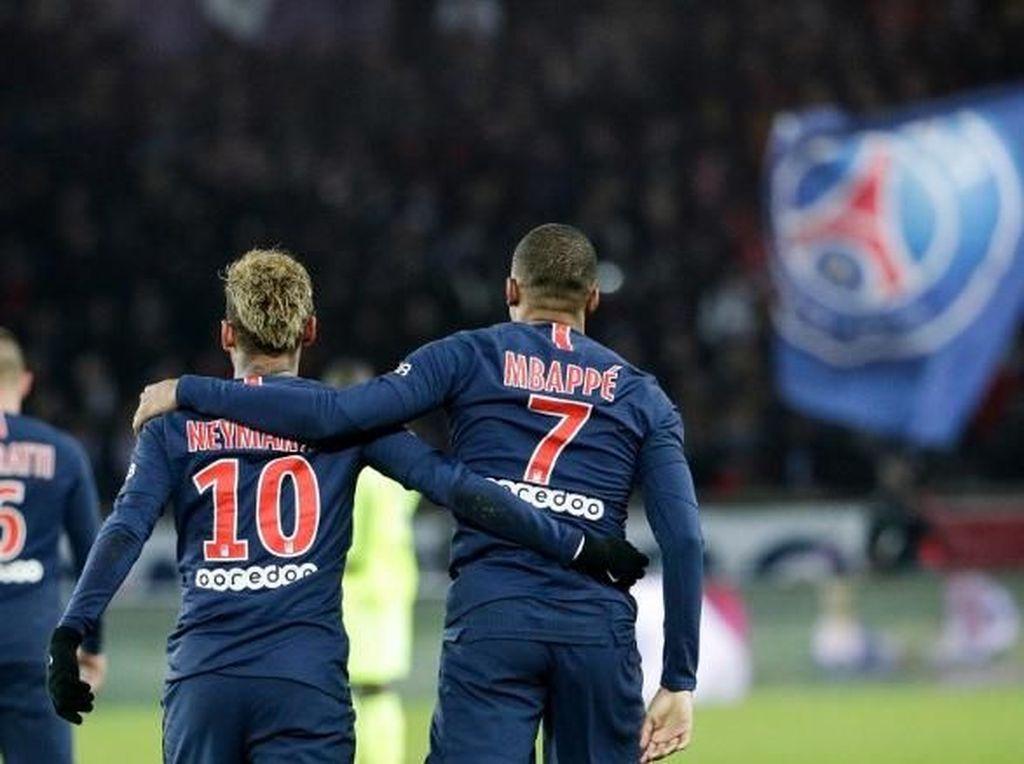 Herrera Yakin Neymar dan Mbappe Bakal Bertahan di PSG