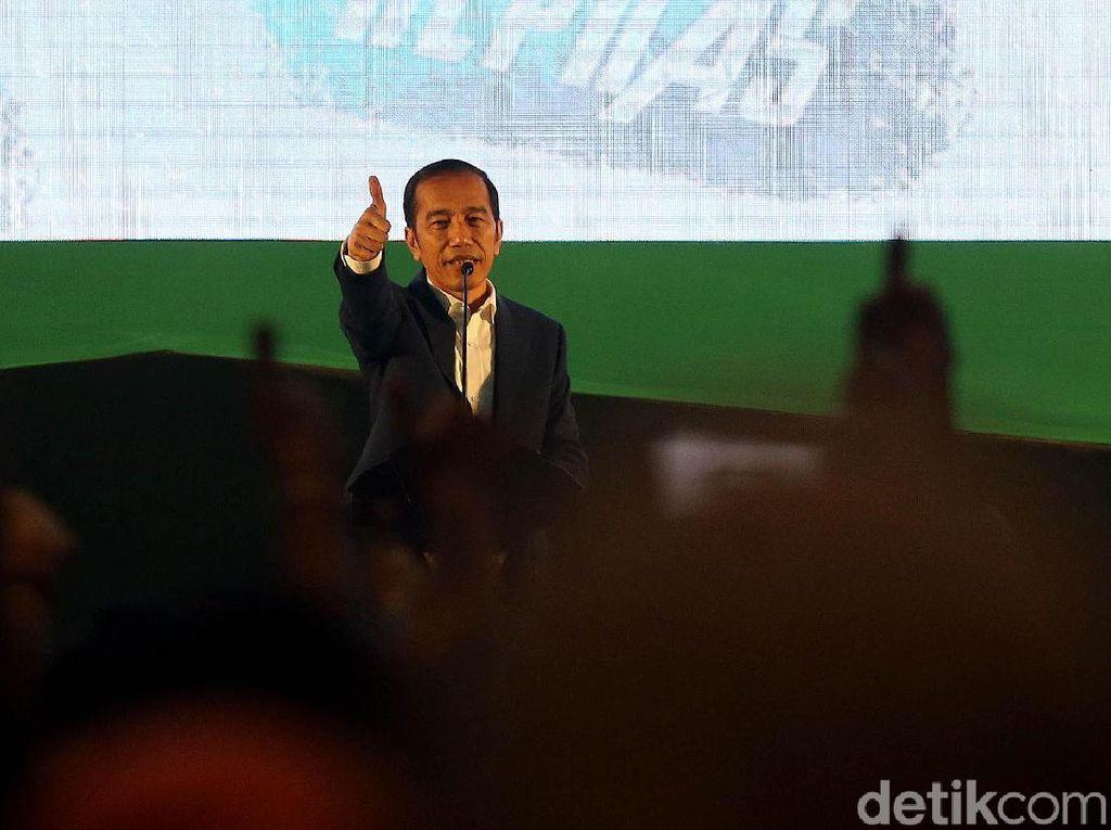 Yusril Jadi Lawyernya di Pilpres, Jokowi: Alhamdulillah