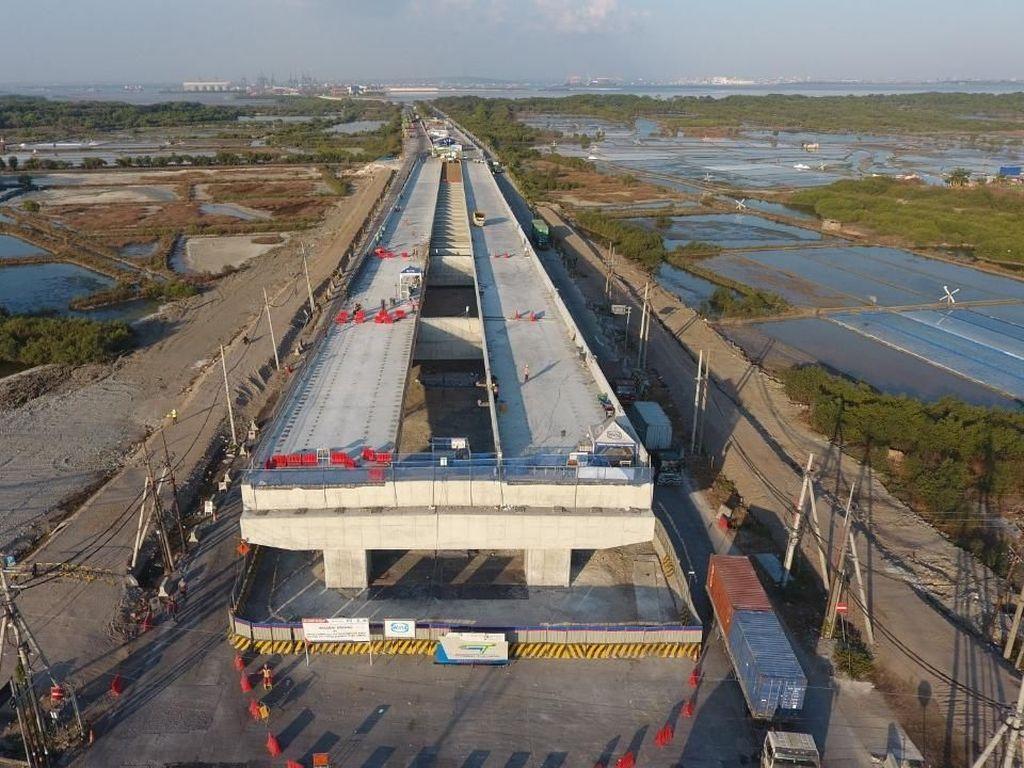Terus Dikebut, Ini Proyek Flyover Teluk Lamong Rp 1,3 Triliun