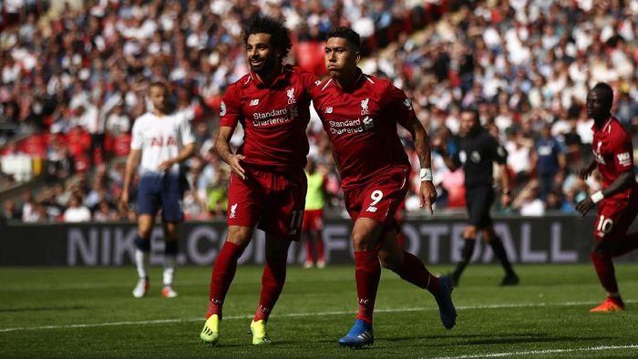 Trio Firmansah adalan andalan Liverpool di lini serang dalam semusim terakhir (Julian Finney/Getty Images)
