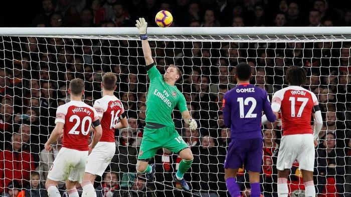 Kiper Arsenal, Bernd Leno. (Foto: David Klein/Reuters)