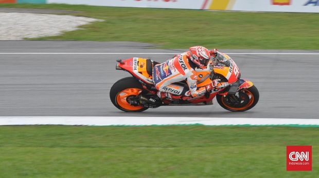 Marc Marquez mengaku hanya mengandalkan insting dan melupakan logika di balapan MotoGP Malaysia