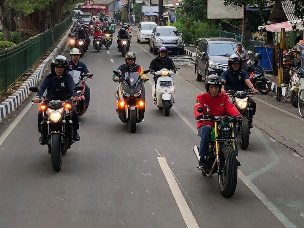 Terpopuler Sepekan: Studi Lampu Motor Siang Hari, Motor Listrik Tangerang