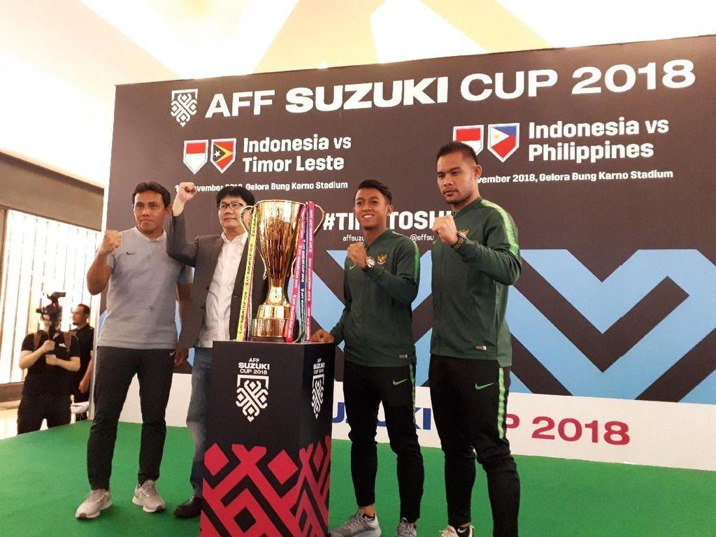 Tur Trofi Piala AFF Singgah di Jakarta