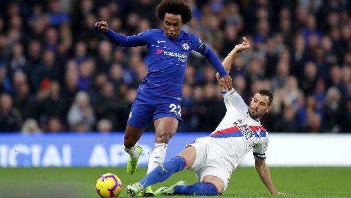 Laga Chelsea vs Crystal Palace musim lalu. (Foto: Richard Heatchote/Getty Images)
