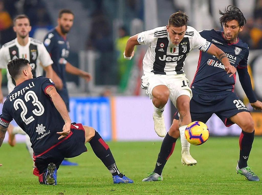 8 Data dan Fakta Menarik dari Juventus Vs Caglliari di Serie A