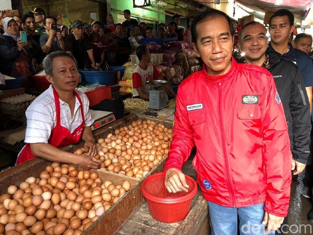 Gaya Jokowi Saat Blusukan ke Pasar hingga Key SHINee yang Doyan Makan