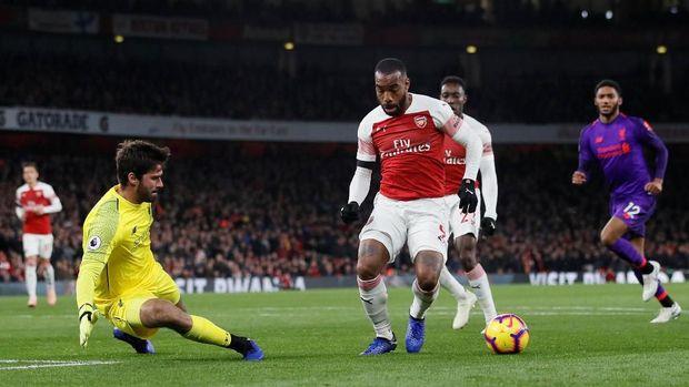 Hasil Arsenal Vs Liverpool: Duel di Emirates Berakhir 1-1